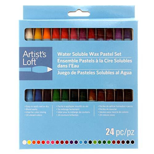 Water Soluble Wax Pastels by Artist's Loft