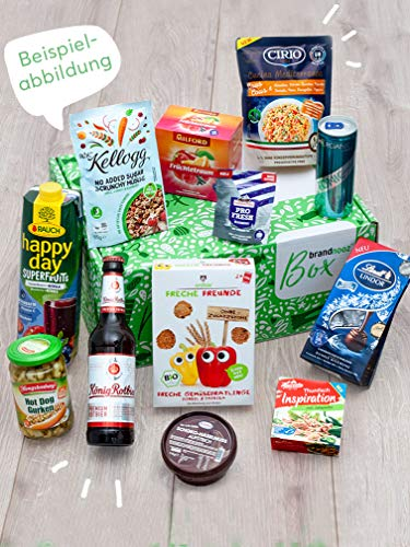 brandnooz - Überraschungsbox| leckere Geschenkbox| Essen | Trinken| leckere Lebensmittelneuheiten von bekannten Marken | garantierter Warenwert von mind. 22€