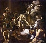 Kunst für Alle Impresión artística/Póster: Michelangelo Merisi da Caravaggio Martyrdom of Saint Matthew - Impresión, Foto, póster artístico, 100x95 cm