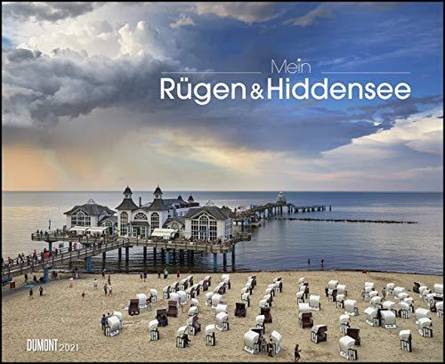 Mein Rügen & Hiddensee 2021 – Wandkalender 52 x 42,5 cm – Spiralbindung