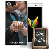 dessana Coque de protection en silicone TPU pour Sony Xperia X Compact - Cadeau personnalisé
