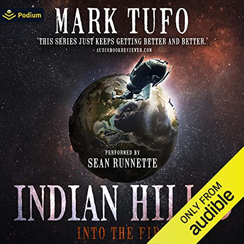 Into the Fire Audiobook By Mark Tufo cover art