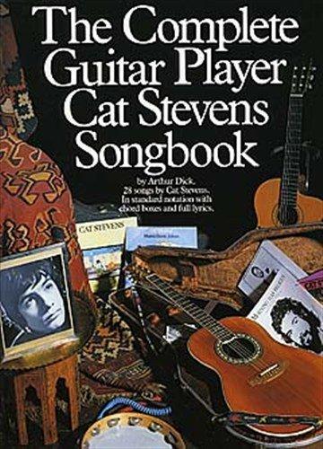 The Complete Guitar Player - Cat Stevens Songbook. Pour mélodiélienne, texte et accordage (avec images de poignées).
