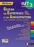 Gestion des Entreprises et des Administrations - S3 - Option CF - Toutes les matières