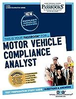 Motor Vehicle Compliance Analyst (Career Examination)