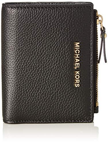 Michael Kors Damen 34F9GJ6F2L Accessory-Travel Wallet, Schwarz, EIN Größe