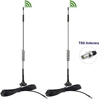 Bingfu 4G LTE 7dBi Magnetic Base TS9 Antenna (2-Pack) for MiFi Mobile Hotspot Router USB Modem Dongle Verizon Jetpack 8800L 7730L AC791L 6620L AT&T ZTE Netgear LB1120 Nighthawk M1 MR1100 Unite 770S