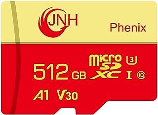 microSDカード microSDXCカード 512GB JNH 超高速Class10 UHS-I U3 V30 4K Ultra HD アプリ最適化A1対応【国内正規品 5年保証】