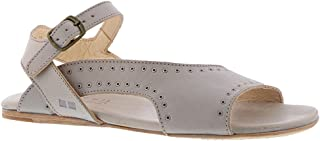 BED STU Auburn Light Grey Rustic Leather 9.5
