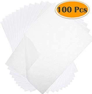 Selizo 100 Sheets Tracing Paper, Translucent Sketching and Tracing Paper for Pencil, Marker and Ink