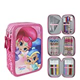Shimmer and Shine Shimmer and Shine-2700000240 Plumier, Multicolor, 19 cm (Artesanía Cerdá CD-27-0240)