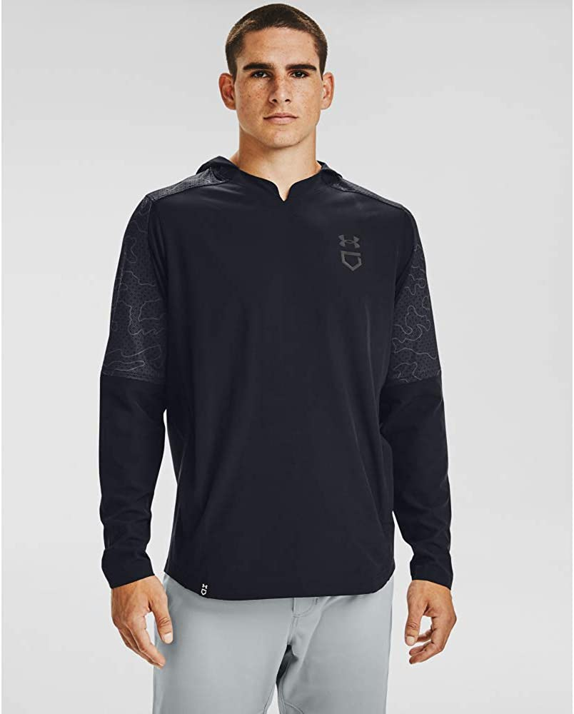 Under Armour Men's Cage Ripthread Hooded Jacket