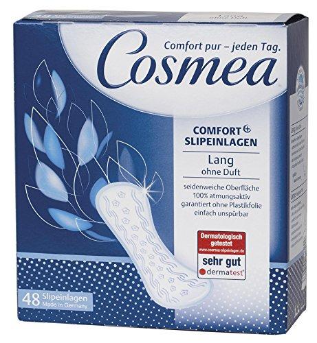 Cosmea Comfort Plus Slipeinlagen lang ohne Duft (48 St.)