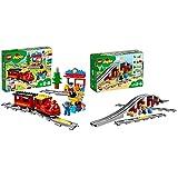 LEGO Duplo Treno a Vapore, 10874 & Ponte e binari ferroviari, 10872