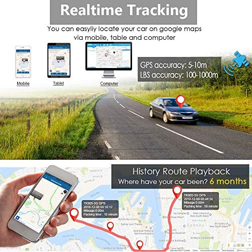 Magnetic GPS Tracker with 1 year tracking service - onPoint GPS Tracking