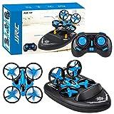 smileyshy quadricoptère,jjrc h36f 3 en 1 drone quadricoptère / véhicule / aéroglisseur drone bateau enfants jouets drones pour enfants, débutants, jouets, cadeaux pour enfants