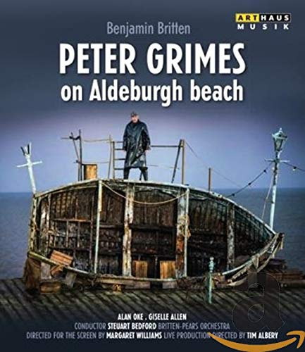 BRITTEN: Peter Grimes on Aldeburgh Beach (filmed at the Aldeburgh Festival, 2013) [Blu-ray]
