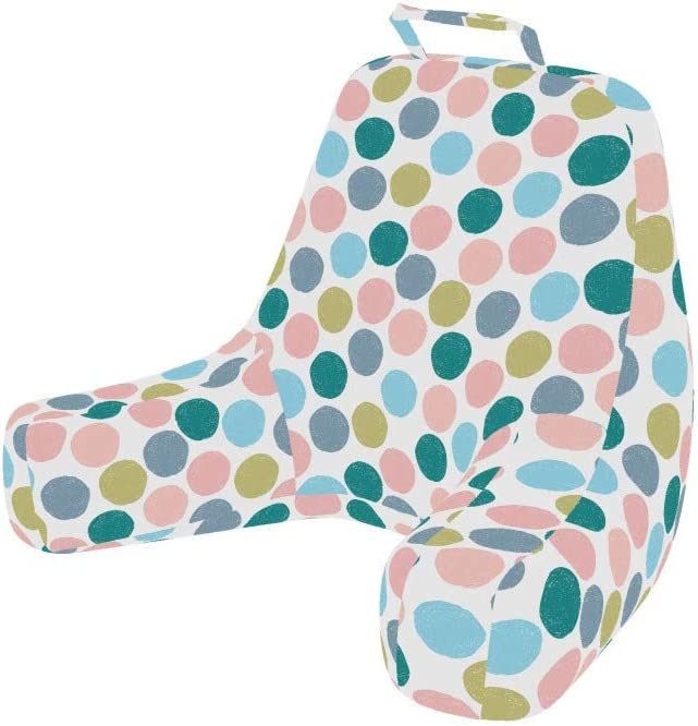 Ambesonne wholesale Abstract Foam Reading Pillow Dots Polka Gr Big free shipping Pastel
