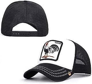 Snapback 2019 Summer Fashion Baseball Caps for Men Women Animal Farm Cap Goorin Brothers - Breathable MeshTrucker Hat