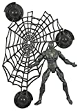 Spider-Man 3 Spider-Man (Black) with Wall Hanging Web Action Figure