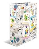 HERMA 19820 Motiv-Ordner DIN A4 Kindergarten Sandkastenfreunde, 7 cm breit aus stabilem Karton mit hochwertigem Innendruck und Namensfeld, Ringordner, Aktenordner, Briefordner, 1 Ordner