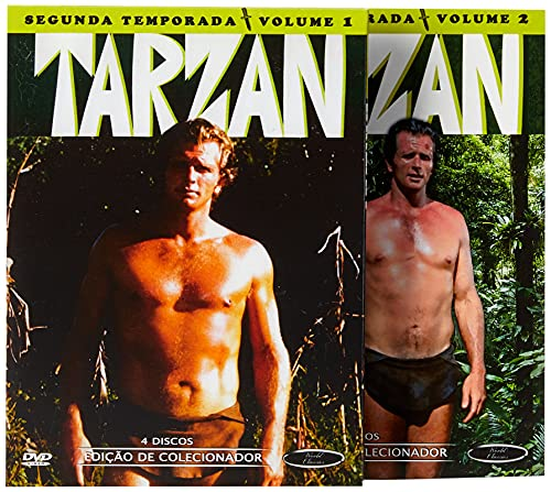 Tarzan 2º Temporada Completa Digibook's 8 Discos