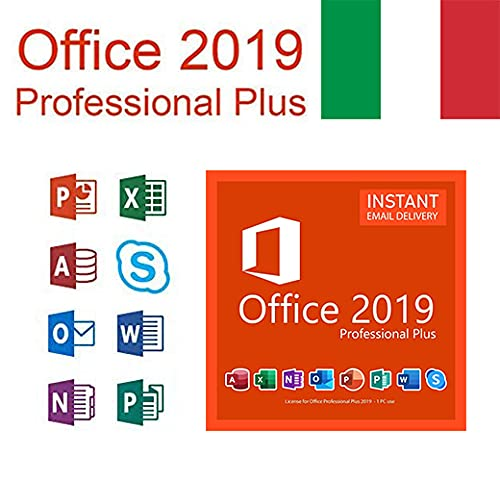 Office 2019 Professional Plus for 1 PC. Only for Windows 10 pro ,Shipping by email