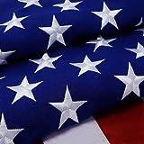 3x5 American Flag Outdoor Heavy Duty Garden Flag Spun Polyester...