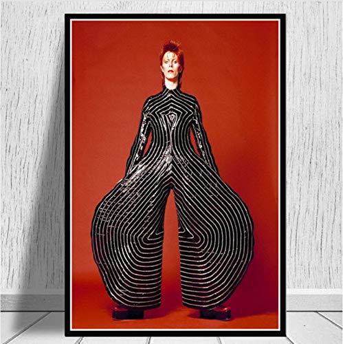 Plakate Und Drucke David Bowie Labyrinth 1986 Klassiker Filmplakat Wandkunst Bild Leinwandmalerei Für Raum Wohnkultur 50X70Cm No Frame