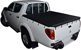 Bunji Ute/Tonneau Cover for Mitsubishi Triton MN (Oct 2009 to June 2015) Double Cab suits Headboard and Over Rail Tub Liner