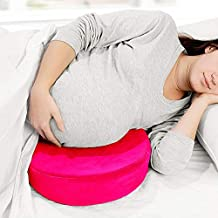Dr Cloud Maternity Pillow Wedge for Pregnancy Women- Ergonomic Design for Comfortable Sleep, Amazing Support for Belly, Back, Knee.