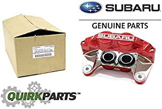 Subaru 2006-2007 Impreza WRX Front Left Brake Caliper RED OEM NEW 26292FE0518A
