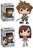 Funko POP! Kingdom Hearts: Sora + Kairi – Disney Stylized Video Game Vinyl Figure NEW...