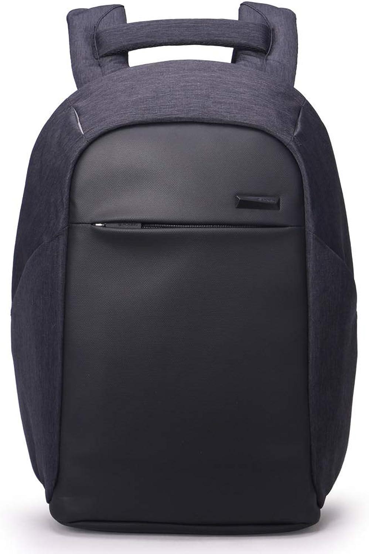 Rucksack Unisex Mens Rucksack Computer Tasche Business Laptop Rucksack Handtasche wasserdichte College School Wandern Travel Daypack Outdoor Rucksack (Farbe   schwarz, Größe   32  18  46cm)