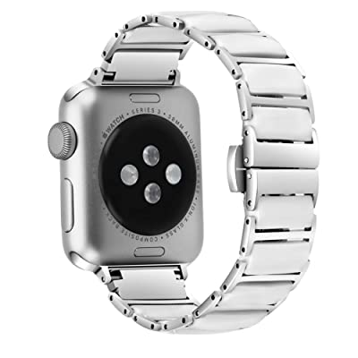 OULUCCI Compatible Apple Watch Band 42mm 44mm C...