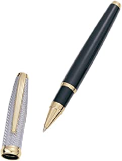Executive Gift Shoppe | Personalized Black & Gold Rollerball Pen