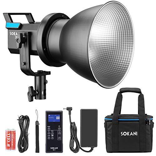 Sokani X60 V2 COB LED-Videoleuch...