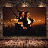 Puzzle 1000 piezas Pintura clásica del arte de la película de la navegación del titanic en Juguetes y juegos Rompecabezas de juguete de descompresión intelectual educativo divert50x75cm(20x30inch)