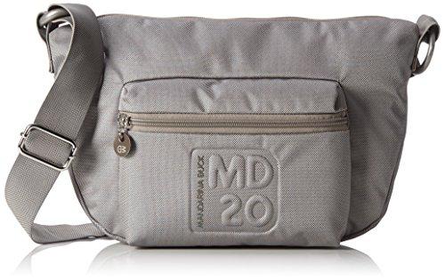Mandarina Duck MD20 - Borsa a tracolla Donna, Grigio (GREY 007), 15x2x10 cm (B x H x T)