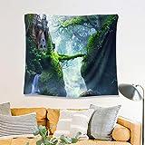 N/ A Camping Landscape WallHome Dekorationen für Wohnzimmer SchlafzimmerDekoration fürWandteppiche für Zimmer (150 * 130CM)