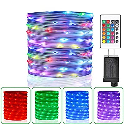 HAHOME 10Ft 30 Micro LEDs Battery Operated Starry String Lights for Indoor and Outdoor Decoration