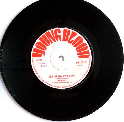 Paintbox - Get Ready For Love / Can I Get To Know You (YOUNG BLOOD 1013) [7inch 45rpm VINYL SINGLE]