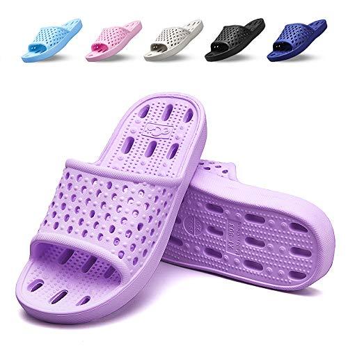 Shower Shoes Men Women Non Slip Bathroom House Slippers College Dorm Room...
