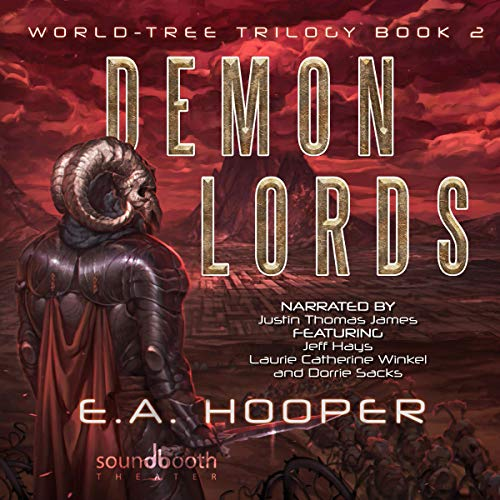 Demon Lords audiobook cover art