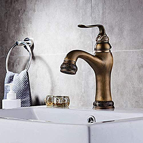 ZJN-JN grifo del fregadero del baño, agua caliente y fría grifo del...