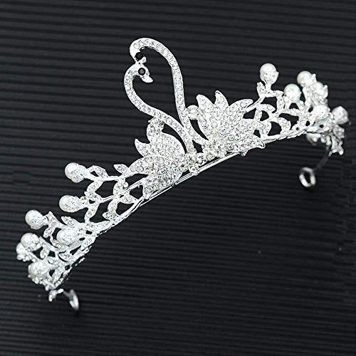 Corona de la novia, accesorios de vestido de novia accesorios de pelo...