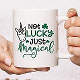 N\A No Afortunado Apenas mágico Taza de  Primavera! Taza del Unicornio   Regalo del Amante del Unicornio   Regalo del...