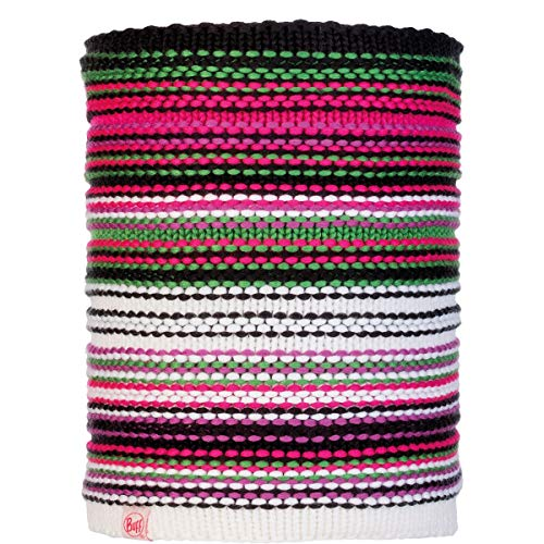 Buff - gebreide ronde sjaal Polar Amity voor kinderen - roze/multi