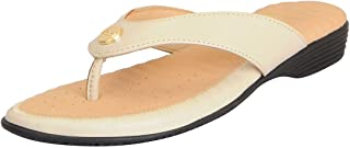 Dr.Scholls Women's Leather Flat Slippers