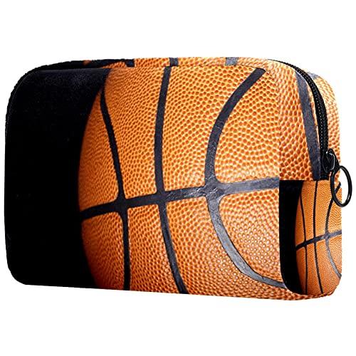 Bolsa de cosméticos para Mujeres Deportes de Baloncesto de la NBA Bolsas de Maquillaje espaciosas Neceser de Viaje Organizador de Accesorios